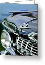 1959 Chevrolet Grille Emblem Greeting Card