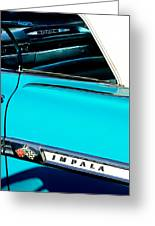 1959 Chevrolet Impala Greeting Card