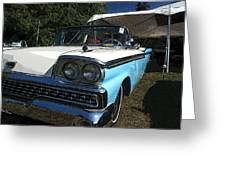1959 Ford Fairlane Greeting Card