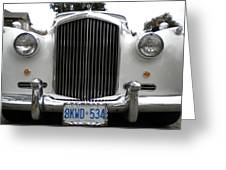 1960 Bentley Front Greeting Card