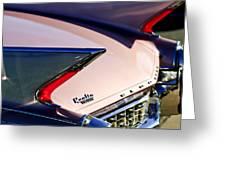 1960 Cadillac Eldorado Taillights Greeting Card