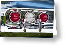 1960 Chevrolet Impala Tail Light Greeting Card