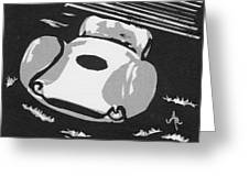 1960 Maserati T 61 Birdcage Greeting Card