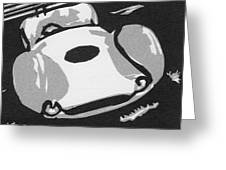 1960 Maserati T 61 Birdcage  Ssm Greeting Card