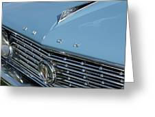 1961 Buick Grille Emblem Greeting Card