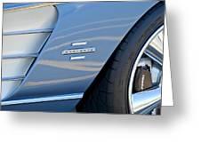 1961 Chevrolet Corvette Zob  Greeting Card