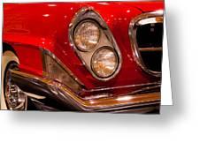 1961 Chrysler 300g 2-door Hardtop Greeting Card