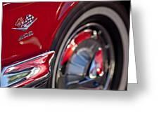 1962 Chevrolet Impala 409 Emblem Greeting Card
