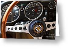 1962 Jaguar Greeting Card