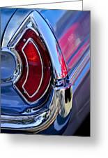 1962 Pontiac Catalina Convertible Taillight Greeting Card