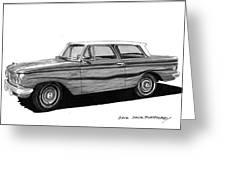 1962 Rambler American Greeting Card