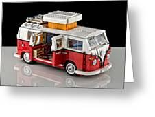 1962 Vw Lego Bus Greeting Card