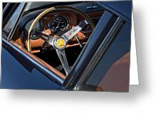 1963 Apollo Steering Wheel     Greeting Card