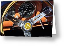1963 Apollo Steering Wheel 2 Greeting Card by Jill Reger