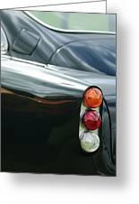 1963 Aston Martin Db4 Series V Vantage Gt Tail Light Greeting Card by Jill Reger