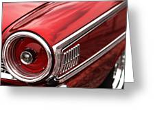 1963 Ford Galaxie 500 Greeting Card