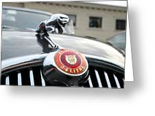 1963 Jaguar Emblem Greeting Card