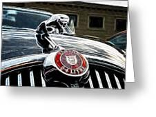 1963 Jaguar Mkii Fantasy Car Greeting Card