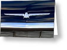 1964 Ford Thunderbird Emblem Greeting Card
