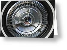 1964 Ford Thunderbird Wheel Rim Greeting Card