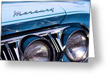 1964 Mercury Park Lane Greeting Card