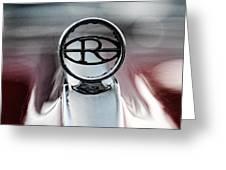 1965 Buick Riveria Hood Emblem Greeting Card