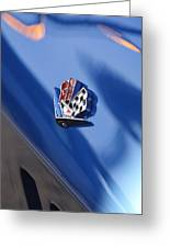 1965 Chevrolet Corvette Emblem Greeting Card
