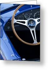 1965 Cobra Sc Steering Wheel 2 Greeting Card