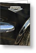 1965 Ford Mustang Emblem 3 Greeting Card