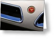 1966 Bizzarini 5300 Spyder Greeting Card