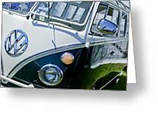 1966 Volkswagen Vw Microbus Greeting Card