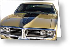 1967 Bronze Pontiac Firebird  Greeting Card