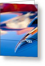 1967 Chevrolet Corvette Hood Emblem Greeting Card