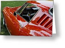 1967 Ferrari 275 Gtb4 Coupe Greeting Card