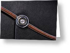 1967 Ford Thunderbird Rear C-pillar Emblem Greeting Card