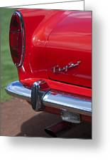 1967 Sunbeam Tiger Taillight Greeting Card