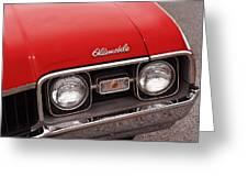 1968 Oldsmobile Cutlass Supreme Greeting Card