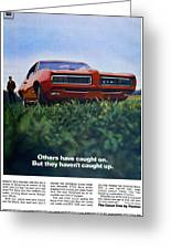1968 Pontiac Gto Greeting Card