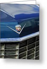1969 Cadillac Hood Emblem Greeting Card