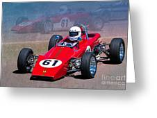 1969 Lotus 61 Formula Ford Greeting Card