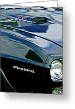 1969 Pontiac Firebird Emblem Greeting Card