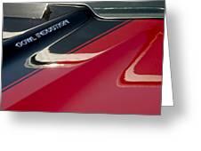 1970 Chevrolet El Camino Ss 454 Ci Hood Emblem Greeting Card