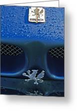 1970 Iso Rivolta Grifo Emblem 2 Greeting Card