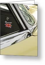 1970 Jaguar Xk Type-e Emblem Greeting Card