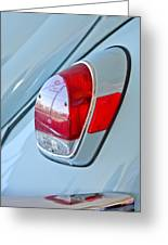 1971 Volkswagen Vw Beetle Taillight Greeting Card
