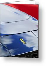1972 Ferrari 365 Gtb 6c Emblem  Greeting Card