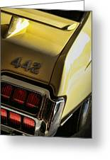 1972 Oldsmobile 442 Greeting Card