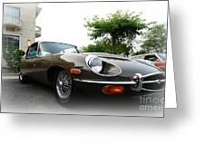 1973 Jaguar Type E Greeting Card