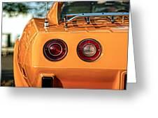 1977 Chevrolet Corvette Greeting Card