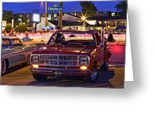 1979 Dodge Li'l Red Express Truck Greeting Card
